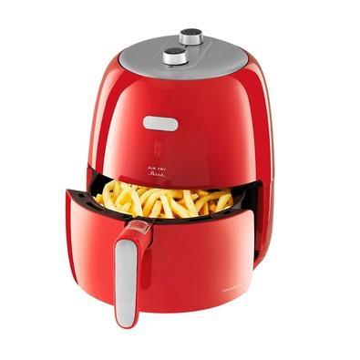 Fritadeira Sem Óleo Philco Air Fry Retrô PFR04V, 3.2 Litros, 110V, Vermelha - 53801041