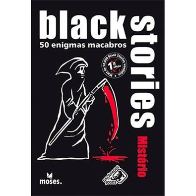 Jogo Black Stories Mistério - BLK107