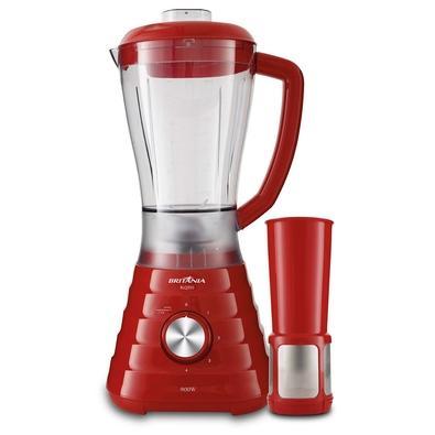 Liquidificador Britânia BLQ950V, 4 Velocidades, 900W, 110V, Vermelho - 33101230