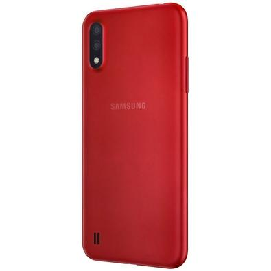 Smartphone Samsung Galaxy A01, 32GB, 13MP, Tela 5.7´, Vermelho - SM-A015MZKSZTO
