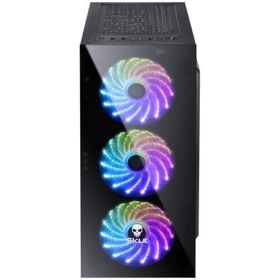 Computador Gamer Skul 3000 Intel Core i3-9100F, 8GB, SSD 240GB, GTX 1050TI 4GB, Linux - 33288