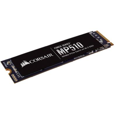 SSD Corsair Force Series MP510 480GB M.2 Leituras: 3480MB/s e Gravações: 2000MB/s - CSSD-F480GBMP510B