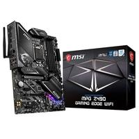 Placa-mãe MSI MPG Z490 GAMING EDGE WIFI, Intel LGA 1200, ATX, DDR4