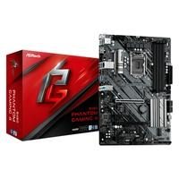 Placa-Mãe ASRock B460 Phantom Gaming 4, Intel LGA 1200, ATX, DDR4