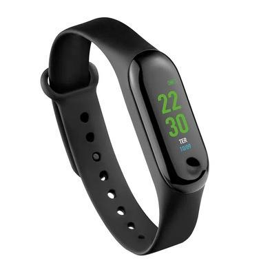 Relógio Smart Band Tóquio Atrio, Bluetooth, Monitor Cardíaco, Resistente a Água, Preto - ES264