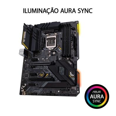 Placa-Mãe Asus TUF Gaming Z490-Plus, Intel LGA 1200, ATX, DDR4