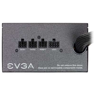 Fonte EVGA 500 BQ, 500W, 80 Plus Bronze, Semi Modular - 110-BQ-0500-K