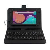 Tablet DL Office Tab Plus, Bluetooth, Android 7.1, 8GB, Tela de 7´, Preto com Capa Teclado - TX399CTP