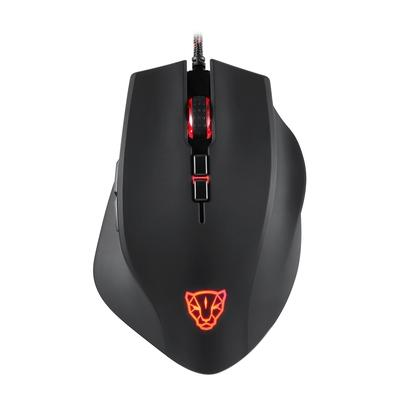 Mouse Gamer Motospeed V80, RGB, 8 Botões, 5000DPI - FMSMS0061PTO