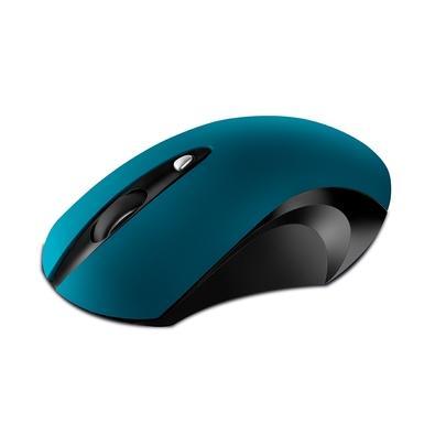 Mouse Sem Fio Movitec OMW-04, Preto/Azul - OMW-04