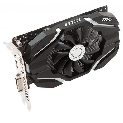 Placa de Vídeo MSI NVIDIA GeForce GTX 1050 TI 4G OCV1, 4GB, GDDR5 - GeForce GTX 1050 Ti 4G OCV1