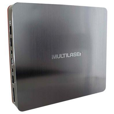 Computador Multilaser Intel Core i3-5005U, 4GB, SSD 120GB, Windows 10 - DT026
