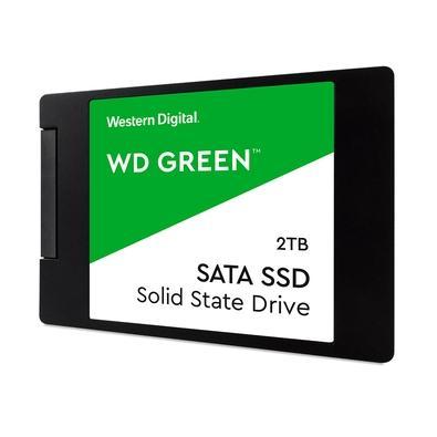 SSD WD Green, 2TB, SATA, Leituras: 2300MB/s e Gravações: 3100MB/s - WDS200T2G0A