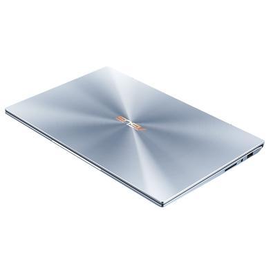 Notebook Asus ZenBook Intel Core i7-10510U, 8GB, SSD 256GB, Windows 10 Home, 14´, Azul Claro Metálico - UX431FA-AN203T