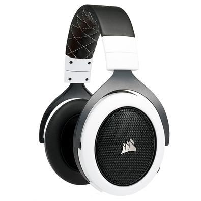 Headset Gamer Corsair HS70 Wireless, 7.1 Surround, Drivers 50mm, Branco - CA-9011177-EU