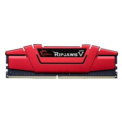 Memória G.Skill Ripjaws V, 8GB (1x8GB), 2800MHz, DDR4, CL17, Vermelho - F4-2800C17S-8GVR