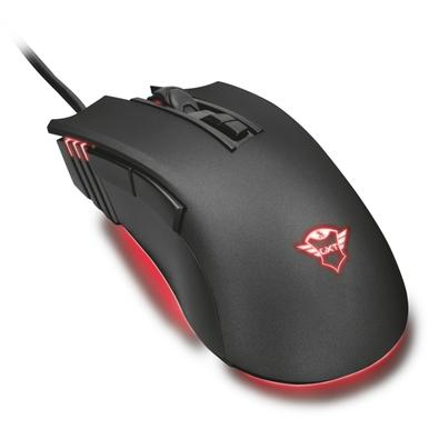 Mouse Gamer Trust GXT 121 Zeebo, LED, 7 Botões, 3200DPI - 23091