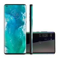 Smartphone Motorola Edge, 128GB, 64MP, Tela 6.7´, Solar Black + Capa Protetora - PAJA0005BR