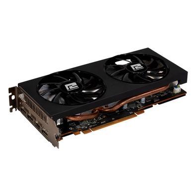 Placa de Vídeo PowerColor AMD Radeon RX 5600 XT, 6GB, GDDR6 - AXRX 5600XT 6GBD6-3DHV2/OC