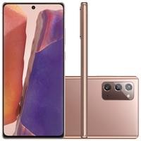 Smartphone Samsung Galaxy Note20, 256GB, 64MP,  Tela 6.7´, Mystic Bronze - SM-N981BZNSZTO