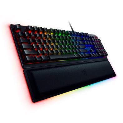 Teclado Óptico-Mecânico Gamer Razer Huntsman Elite, Chroma, Razer Switch Red, US - RZ03-01871100-R3U1