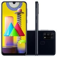 Smartphone Samsung Galaxy M31, 128GB, 64MP, Tela 6.4´, Preto - SM-M315FZKSZTO