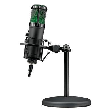 Microfone Streamer Trust Gaming GXT 256 Exxos, RGB, USB - 23510