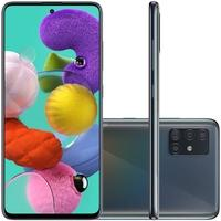Smartphone Samsung Galaxy A51, 128GB, 48MP, Tela 6.5´, Preto - SM-A515FZKRZTO
