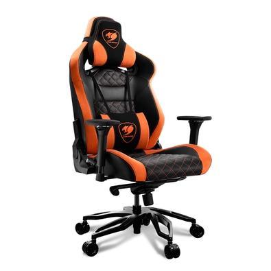 Cadeira Gamer Cougar Armor Titan Pro, Orange / Black - 3MTITANS.0001