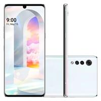 Smartphone LG Velvet, 128GB, 48MP, Tela 6.8´, Aurora White - LM-910EMW