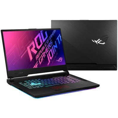 Notebook Gamer Asus Rog Strix Intel Core i7-10750H, 16GB, SSD 512GB, NVIDIA RTX2060, Windows 10 Home - G512LV-AZ139T
