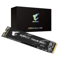 SSD Aorus Gen4, 2TB, M.2, NVMe, Leituras: 5000MB/s e Gravações: 4400MB/s - GP-AG42TB
