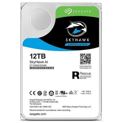 HD Seagate SkyHawk, 12TB, 3.5´, SATA - ST12000VE0008
