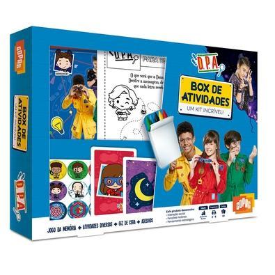 Box de Atividades Detetives do Prédio Azul, DPA, Copag - 90948