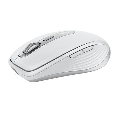 Mouse sem fio Logitech MX Anywhere 3, Unifying, Bluetooth, Mac, iPad, PC, Linux, Chrome. Cinza Claro - 910-005993