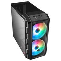 Gabinete Gamer Cooler Master Mastercase H500, 3x Fans (2x ARGB Frontais, 1x Traseira), Lateral em Vidro Temperado, Cinza - MCM-H500-IGNN-S01