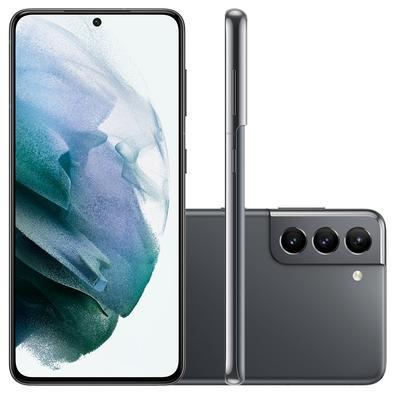 Samsung Galaxy S21 5G, 128GB, RAM 8GB, Octa-Core, Câmera Tripla, Cinza - SM-G991BZARZTO