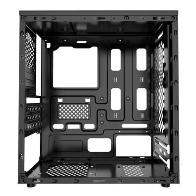 Gabinete Gamer XWise Discovery, Mid Tower, 2x FAN Frontal, Lateral em Acrílico, Preto - 6603