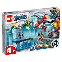 LEGO Super Heroes Marvel - Vingadores A Ira de Loki, 223 Peças - 76152
