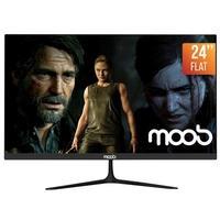Monitor Gamer 24'' MOOB, 2ms, 75Hz, Flat Preto