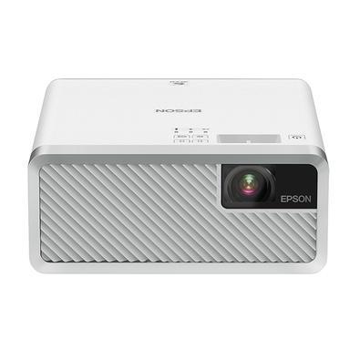 Projetor Laser Epson, 1x HDMI, 30´ a 150´, 2.000 Lúmens, Branco - EF-100W