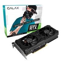 Placa de Vídeo GALAX GeForce RTX 3060 (1-Click OC) LHR, 15 Gbps, 12GB GDDR6, Ray Tracing, DLSS - 36NOL7MD1VOC