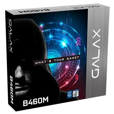 Placa Mãe GALAX B460M EX, Intel LGA1200, M-ATX, DDR4, M.2, PCIe