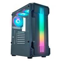 Gabinete Gamer K-Mex Bifrost II, LED RGB, Lateral em Vidro Temperado, Preto  - CG01KBRH001CB0X