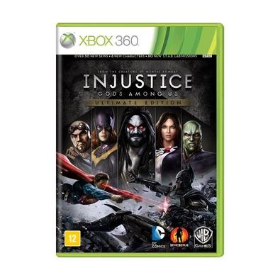 Jogo Injustice Gods Among Us Ultimate Edition - Xbox 360 - Warner Bros Interactive Entertainment