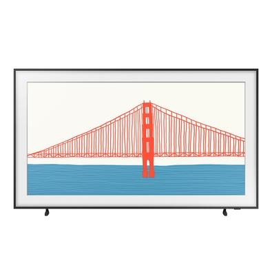 Smart TV Samsung 50´ 4K QLED 50LS03A, Processador IA, HDR10+, Design Slim, Molduras Customizáveis, Modo Arte - QN50LS03AAGXZD