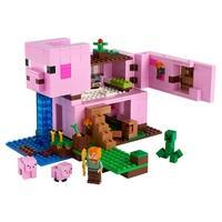LEGO Minecraft - A Casa do Porco, 490 Peças - 21170