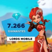Gift Card Digital Lords Mobile - 7.266 Diamantes