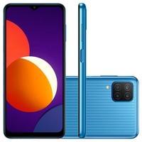 Smartphone Samsung Galaxy M12 64GB, 4GB RAM, Octa-Core, Câmera Quádrupla, 5000mAh, Azul - SM-M127FLBSZTO