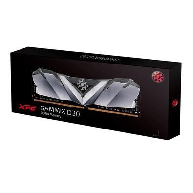 Memória XPG Gammix D30, 8GB, 3200MHz, DDR4, CL19 - AX4U32008G16A-SB30